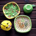 Тарелочки для фруктов